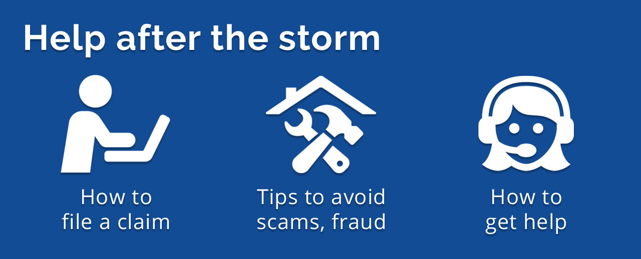 How to file a claim, avoid scams and get help