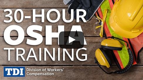 OSHA 30-Hour Construction Courses