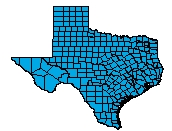 Bunch TX HCN-FH Service Area Map