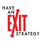 Have an exit strategy logo