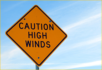 driving in windy conditions